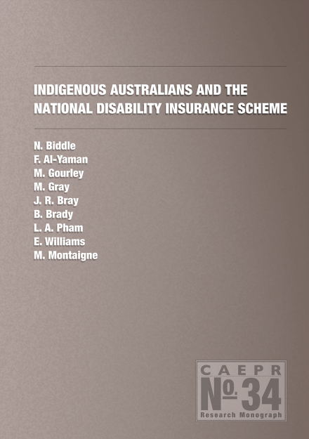 Indigenous Australians and the National Disability Insurance Scheme