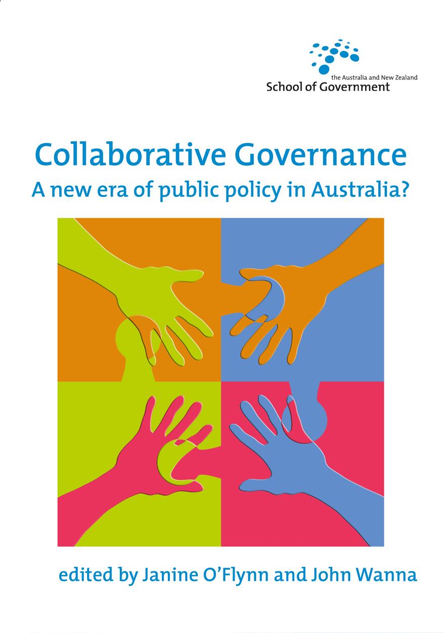 Collaborative Teaching New Zealand ~ Collaborative governance anu press