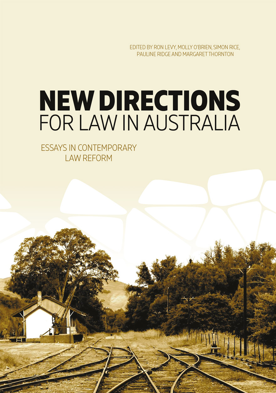 new directions for law in anu press anu
