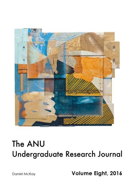 ANU Undergraduate Research Journal: Volume Eight, 2016