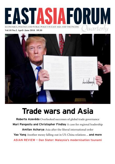East Asia Forum Quarterly: Volume 10, Number 2, 2018