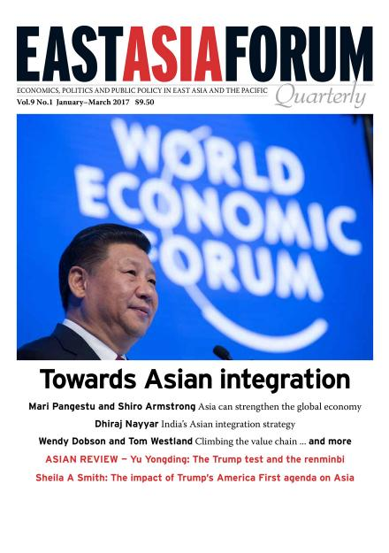 East Asia Forum Quarterly: Volume 9, Number 1, 2017
