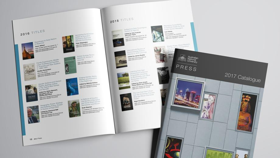 ANU Press 2017 catalogue