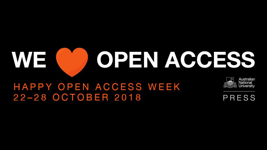 ANU Press is celebrating open-access week