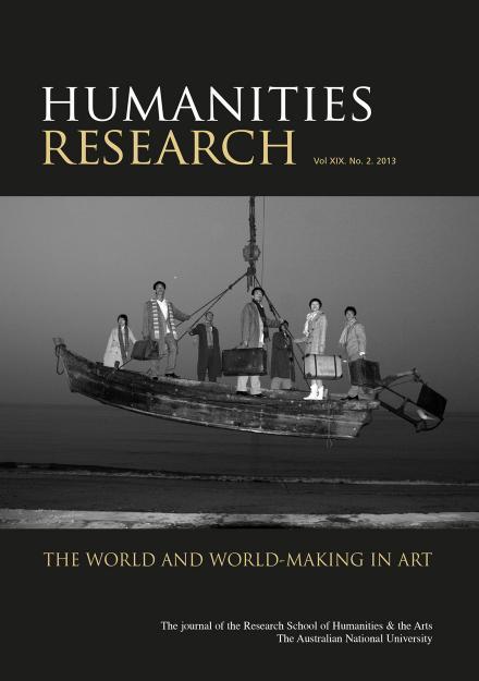 Humanities Research Journal Series: Volume XIX No  2  2013