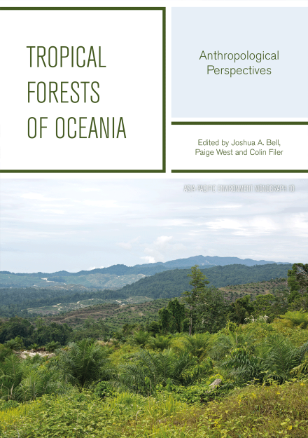 Book cover: Tropical forests of Oceania.