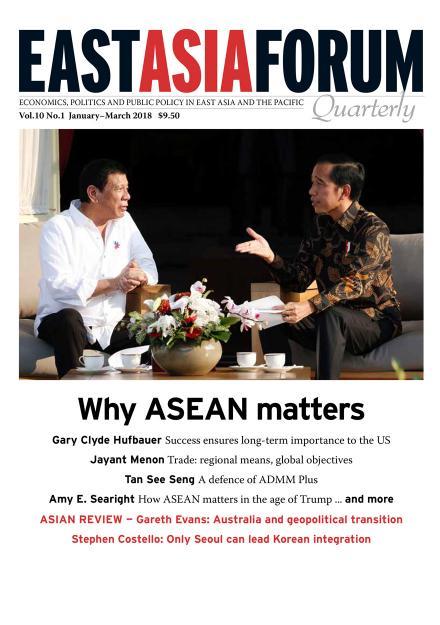 East Asia Forum Quarterly: Volume 10, Number 1, 2018