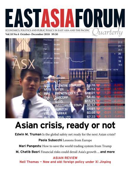 East Asia Forum Quarterly: Volume 10, Number 3, 2018