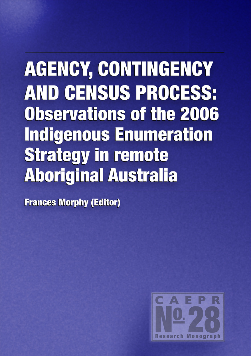 Agency, Contingency and Census Process