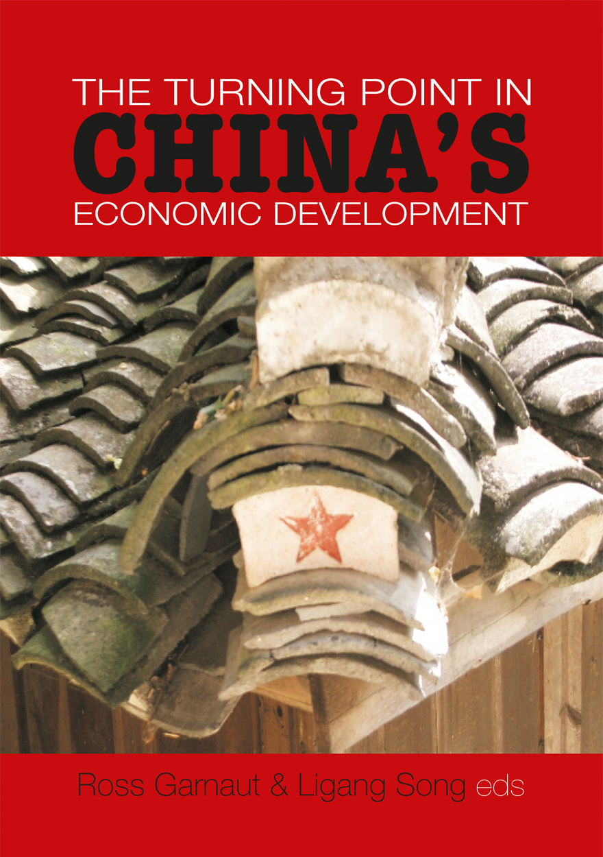 The Turning Point in China's Economic Development