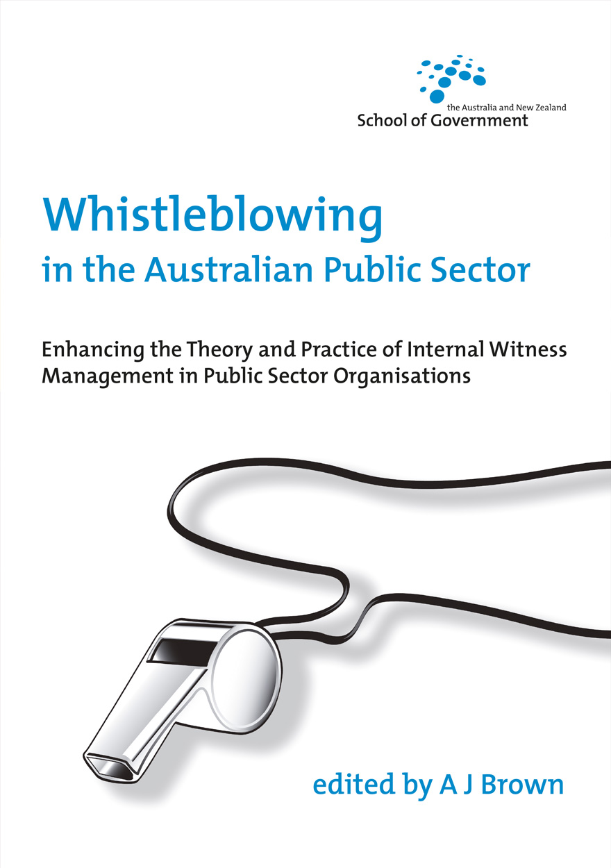 Whistleblowing in the Australian Public Sector
