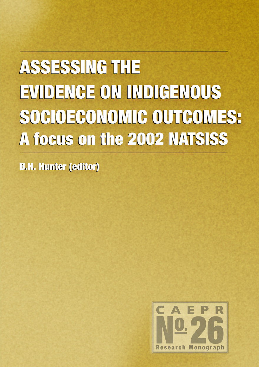 Assessing the Evidence on Indigenous Socioeconomic Outcomes