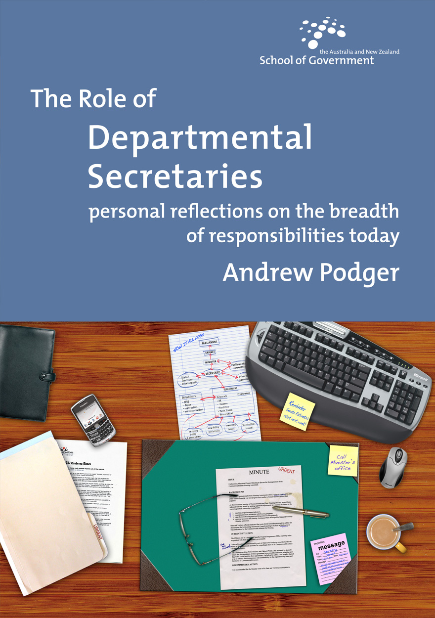 The Role of Departmental Secretaries
