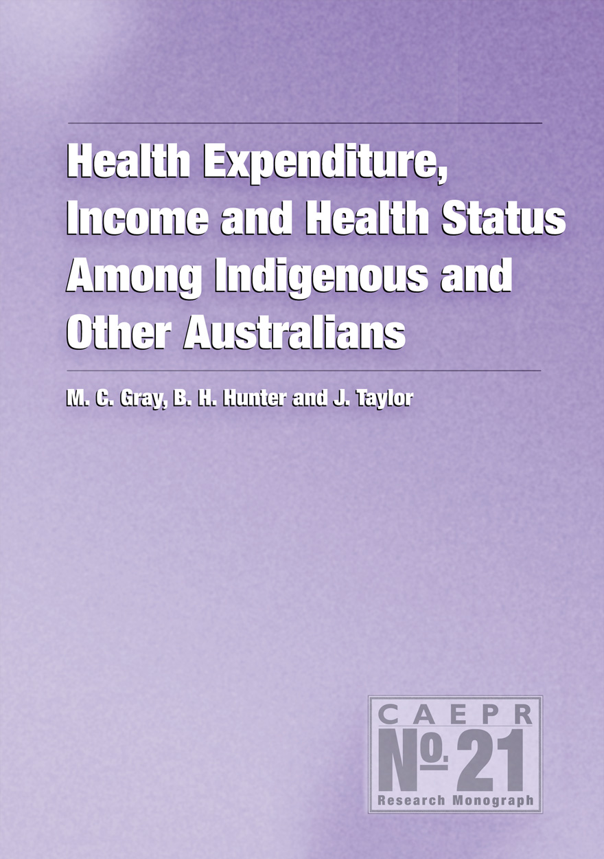 Health Expenditure, Income and Health Status Among Indigenous and Other Australians