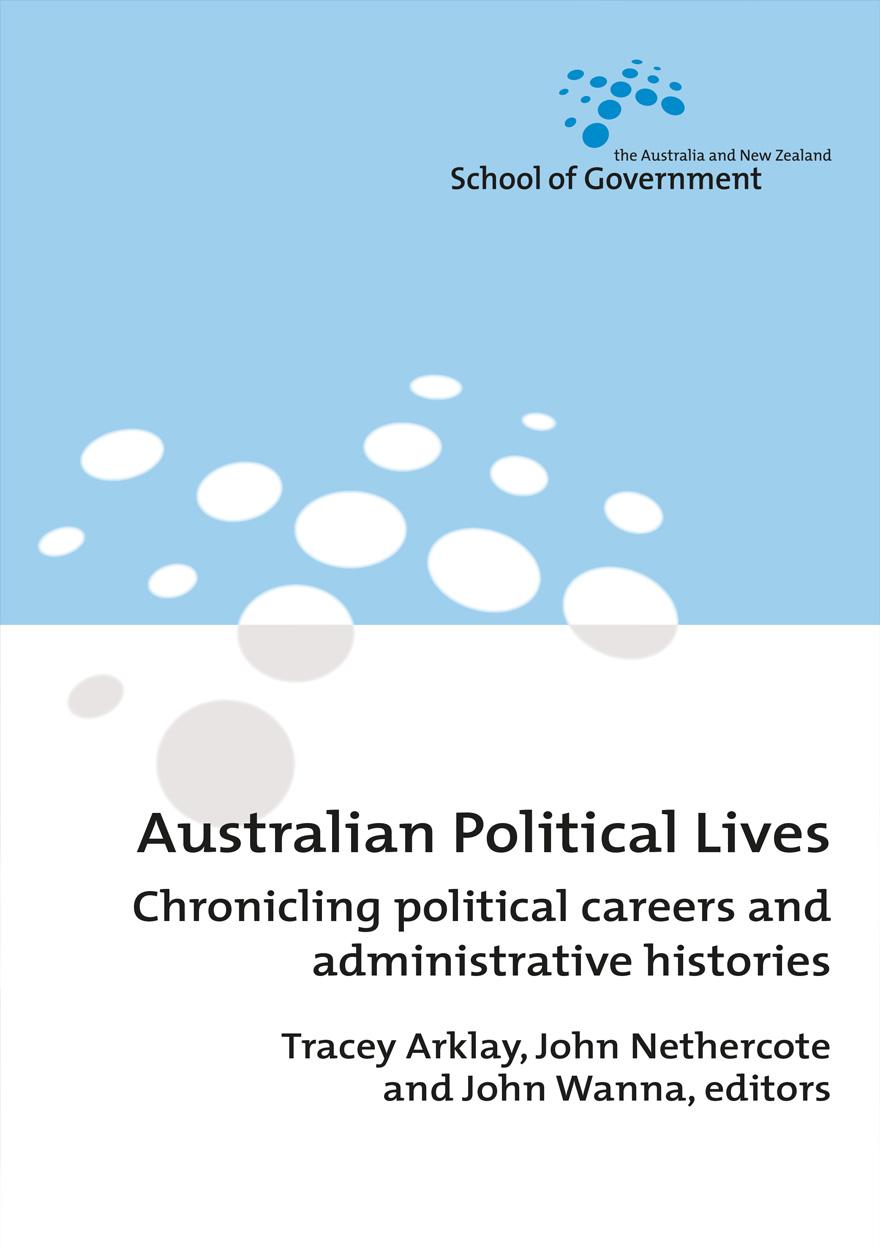 Australian Political Lives
