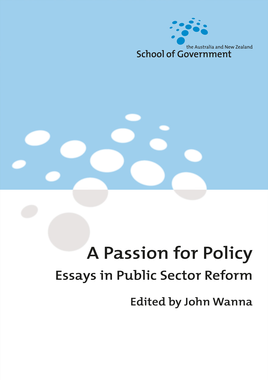 A Passion for Policy