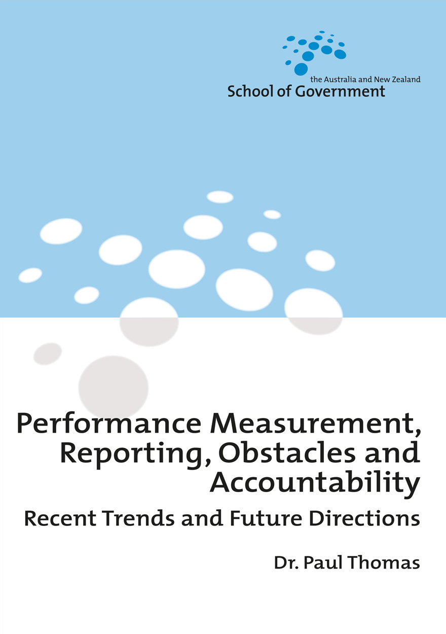 Performance Measurement, Reporting, Obstacles and Accountability