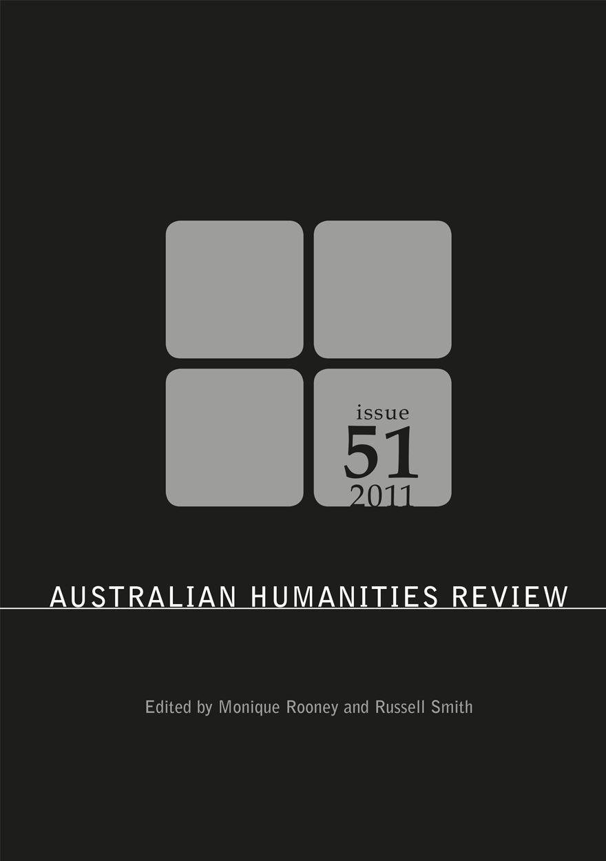 Australian Humanities Review: Issue 51, 2011