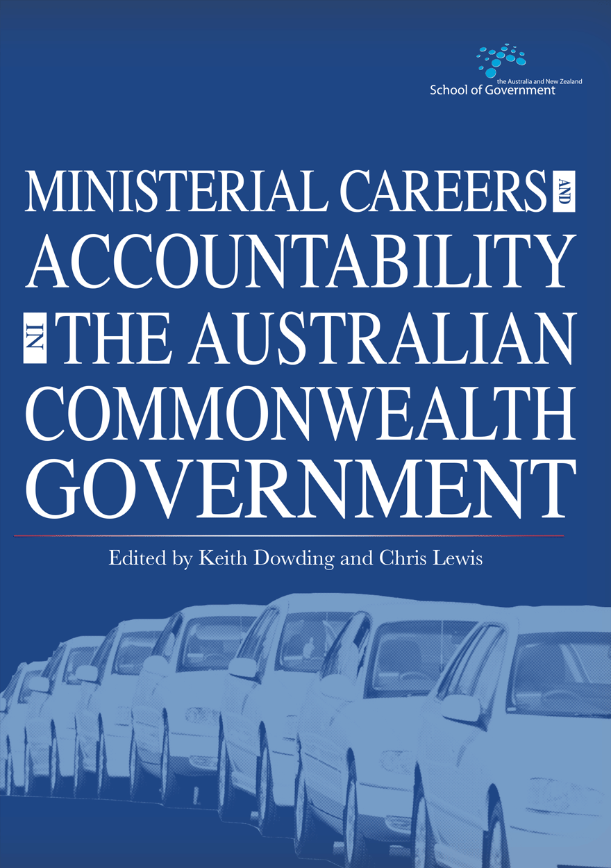 Ministerial Careers and Accountability in the Australian Commonwealth Government