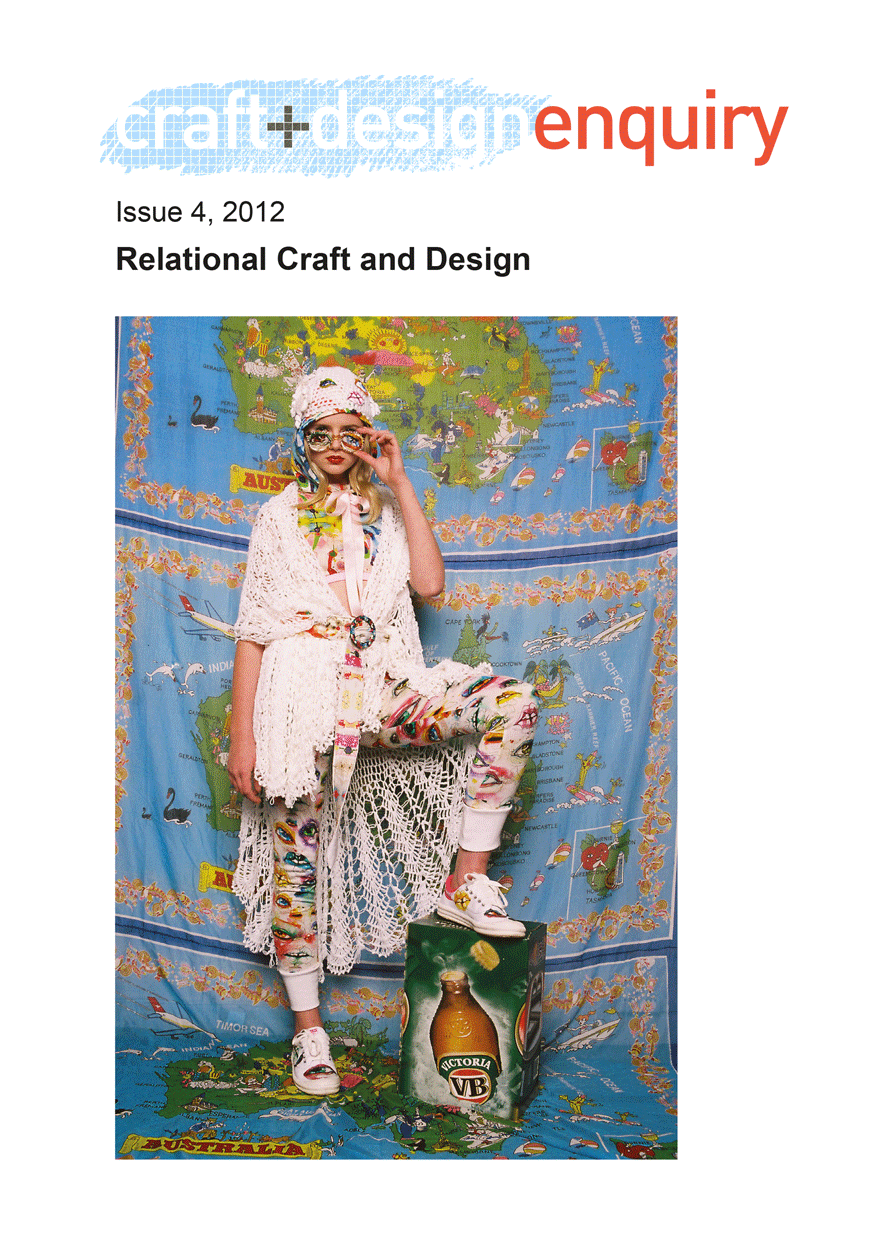 craft + design enquiry: issue 4, 2012
