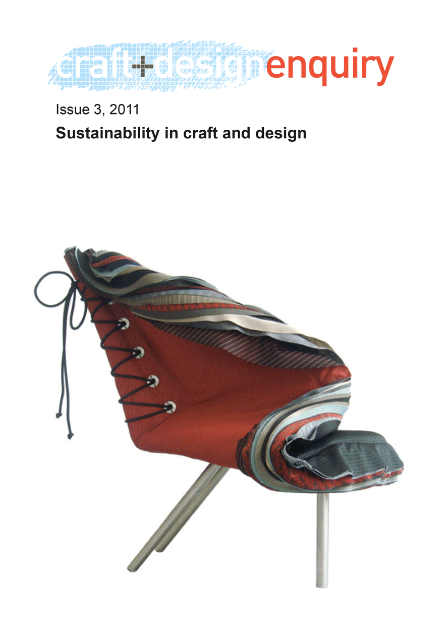 craft + design enquiry: issue 3, 2011