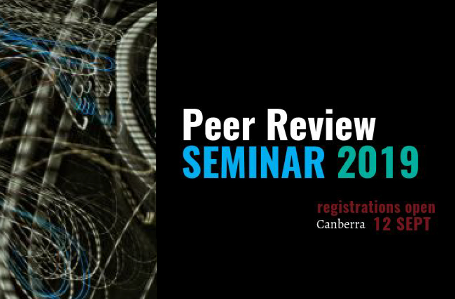 Peer Review: Scholarly Research and Publishers Seminar