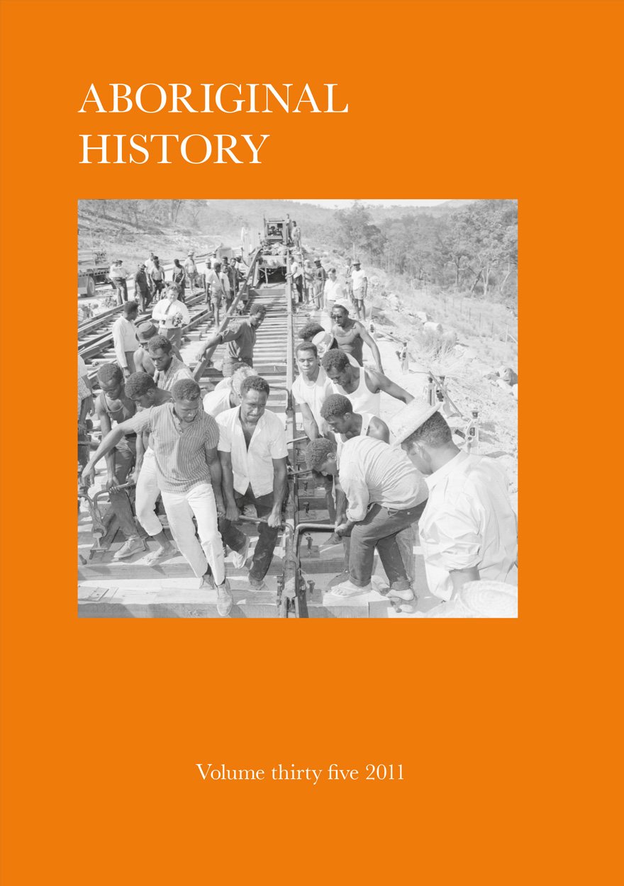 Aboriginal History Journal: Volume 35