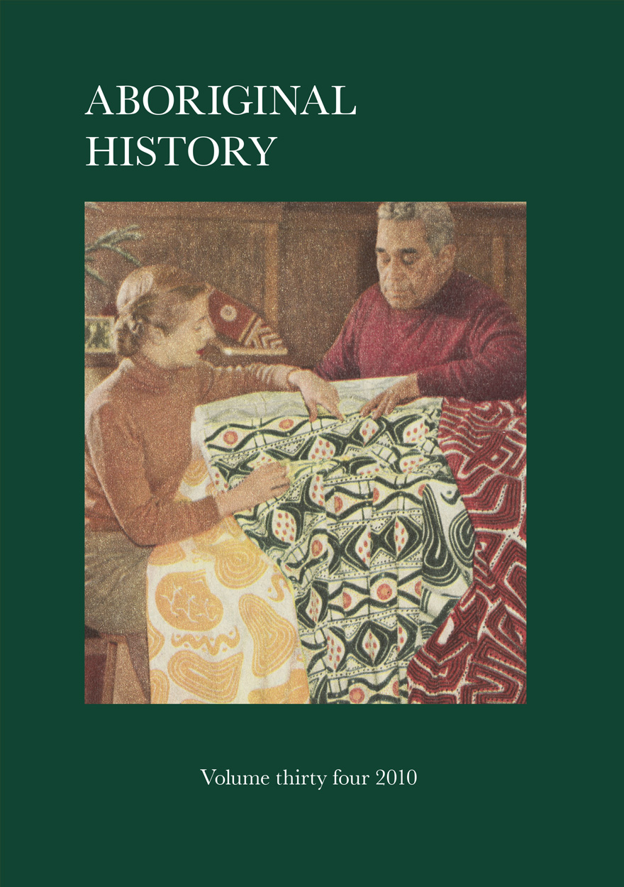 Aboriginal History Journal: Volume 34