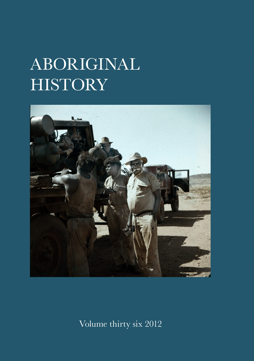 Aboriginal History Journal: Volume 36