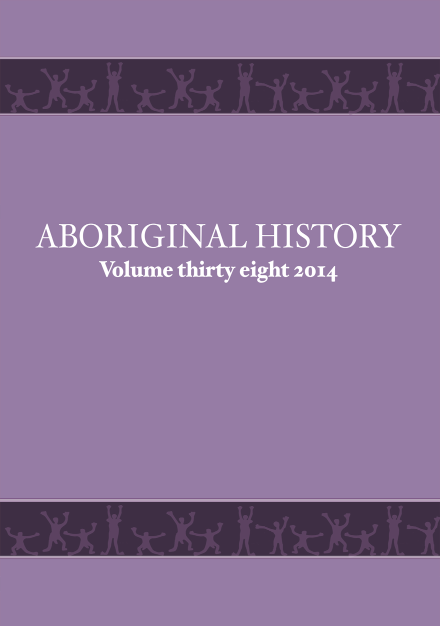 Aboriginal History Journal: Volume 38