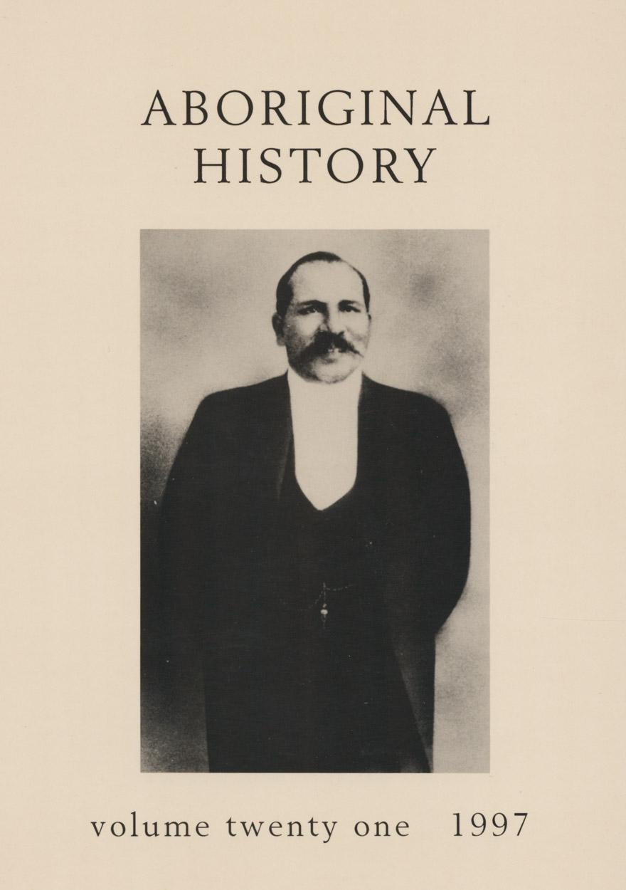 Aboriginal History Journal: Volume 21