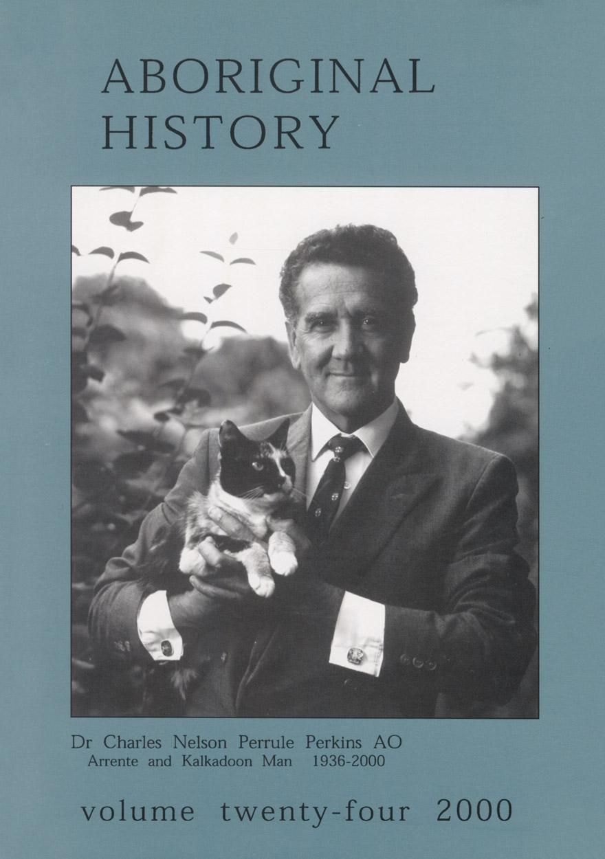 Aboriginal History Journal: Volume 24