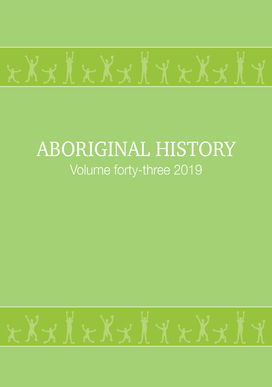 Aboriginal History Journal: Volume 43