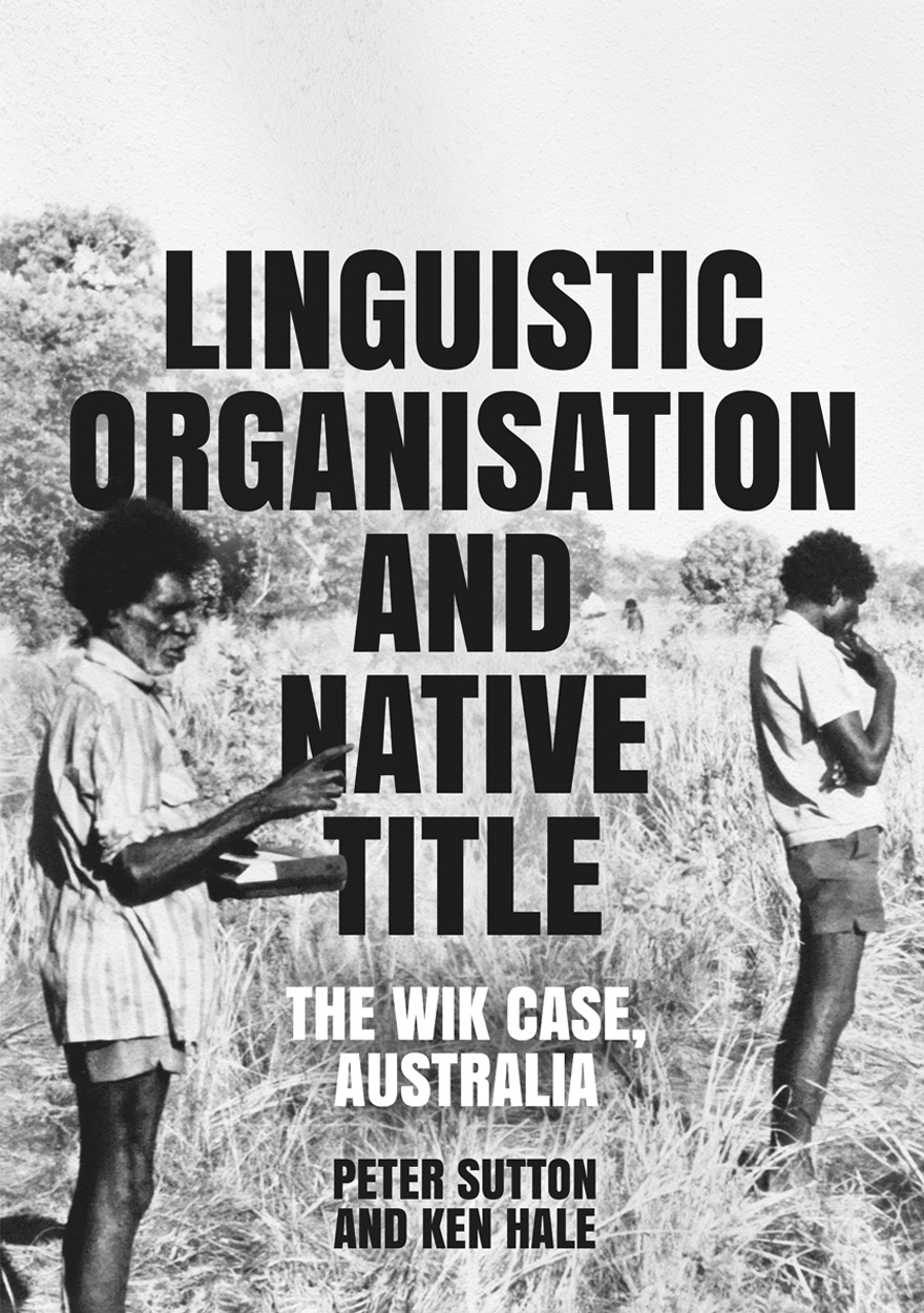 Linguistic Organisation and Native Title