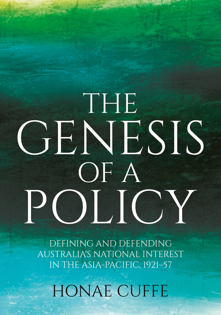 The Genesis of a Policy
