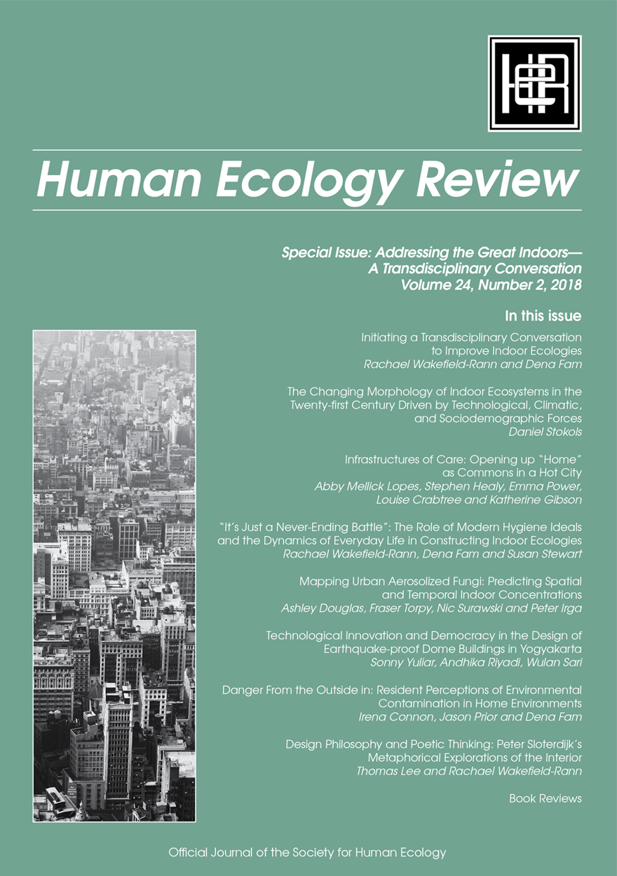 Human Ecology Review: Volume 24, Number 2