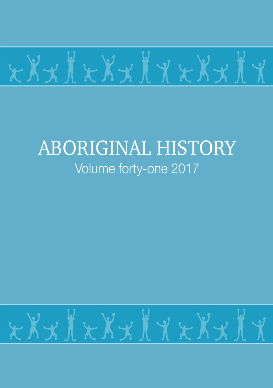 Aboriginal History Journal: Volume 41