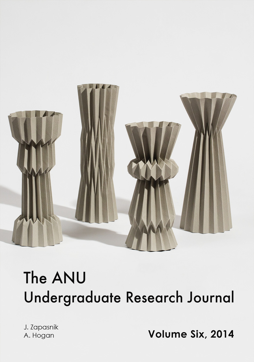 ANU Undergraduate Research Journal: Volume Six, 2014