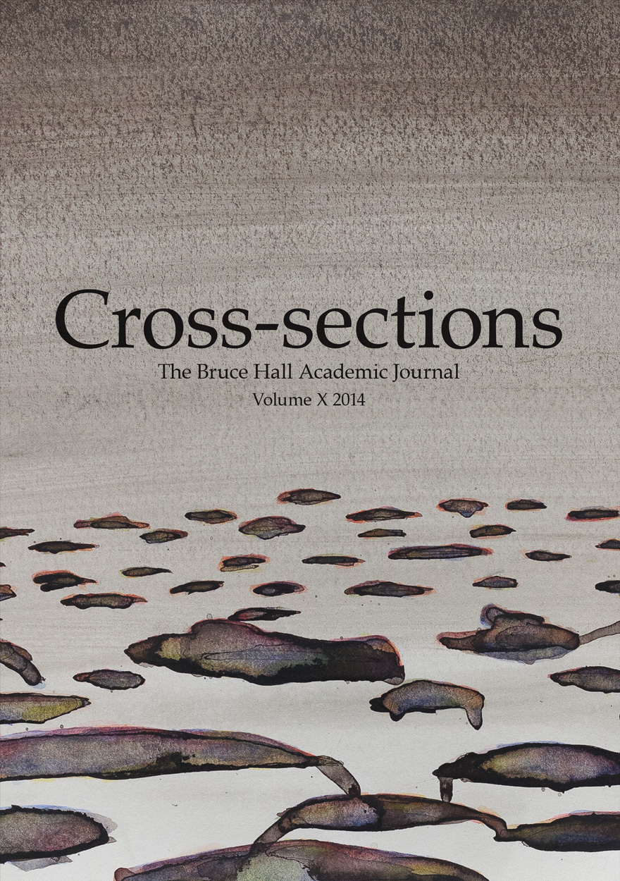 Cross-sections, The Bruce Hall Academic Journal: Volume X, 2014