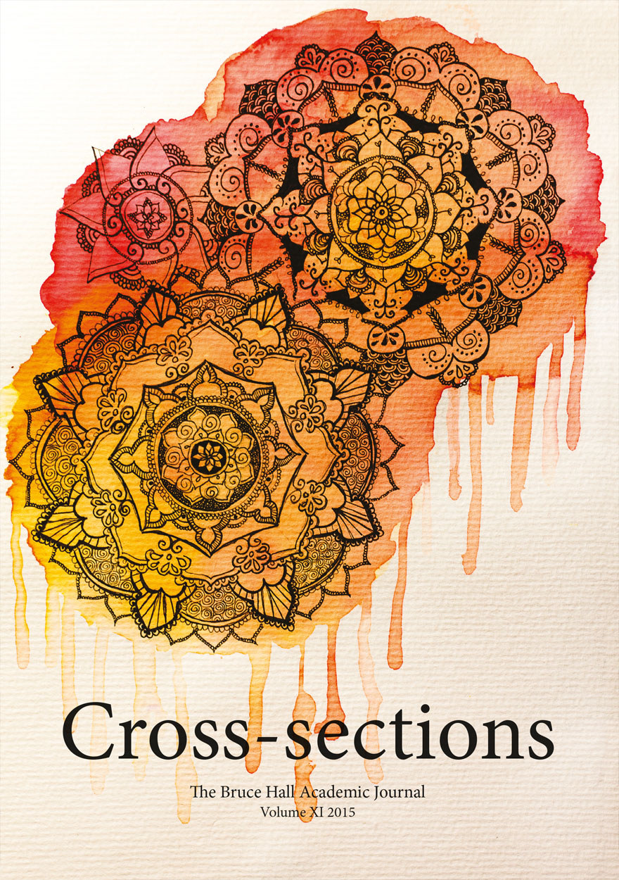 Cross-sections, The Bruce Hall Academic Journal: Volume XI, 2015