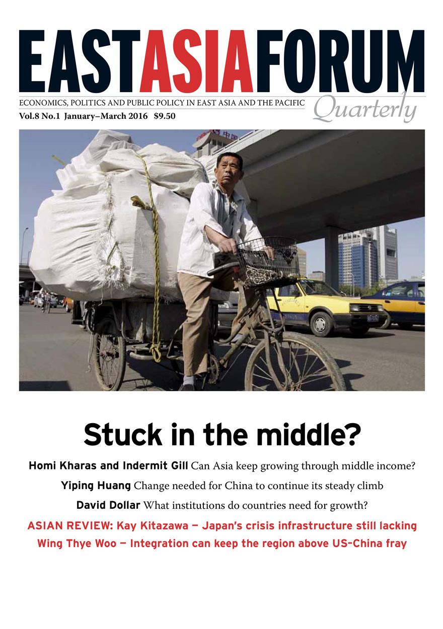 East Asia Forum Quarterly: Volume 8, Number 1, 2016