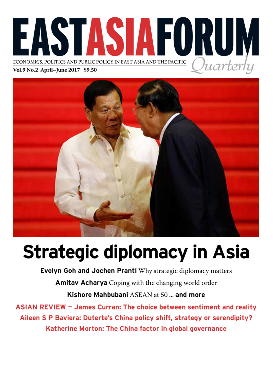 East Asia Forum Quarterly: Volume 9, Number 2, 2017
