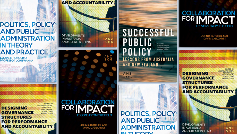 Reflections on the ANZSOG series from its contributors